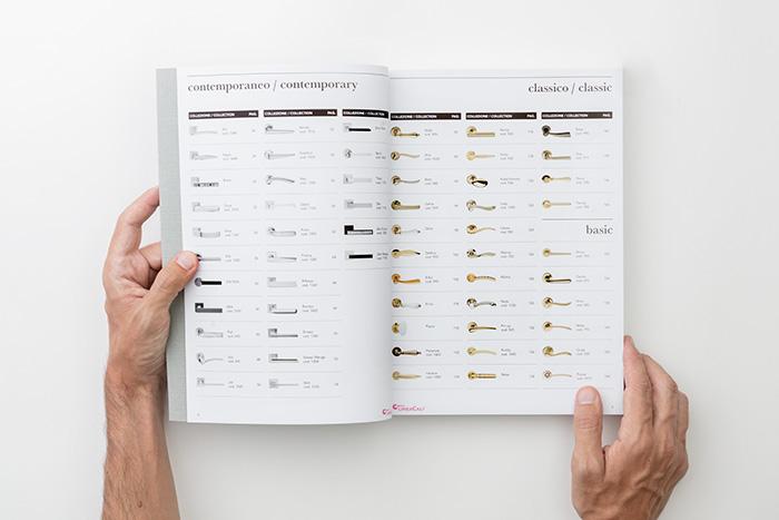 new general catalogue Linea Calì